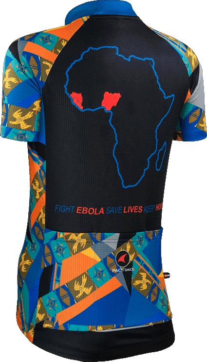 Women's Fight Ebola Cycling Jersey