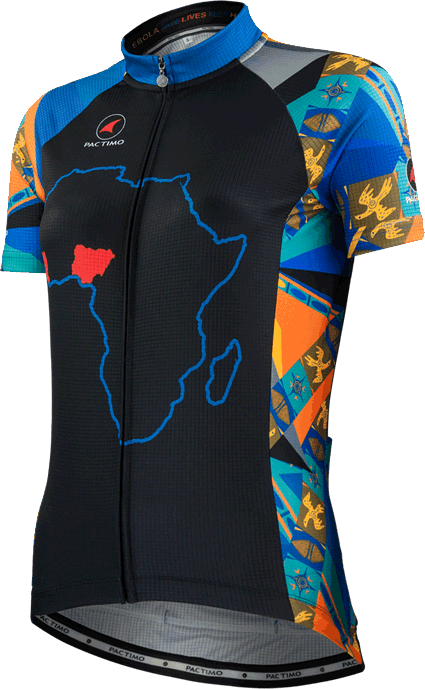Women's Fight Ebola Cycling Jersey