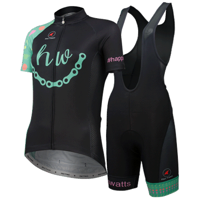 HappinessWatts Cycling Kit for Women