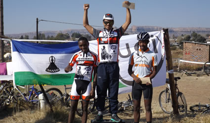 ACE The Sufferfest Lesotho MTB Team
