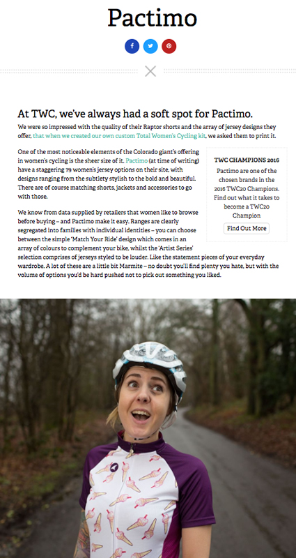 Total Women's Cycling Review
