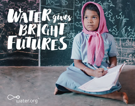 water.org water gives bright futures