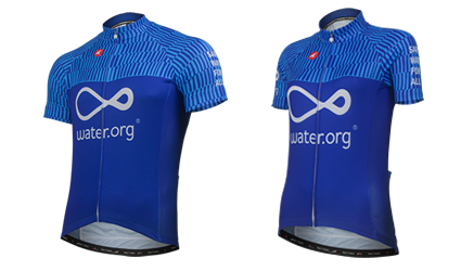 water.org cycling jerseys
