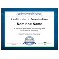 PAEMST Printable Teacher Nomination Certificate Thumbnail Image