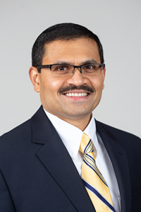Salil S. Desai, Ph.D. Portrait Photo