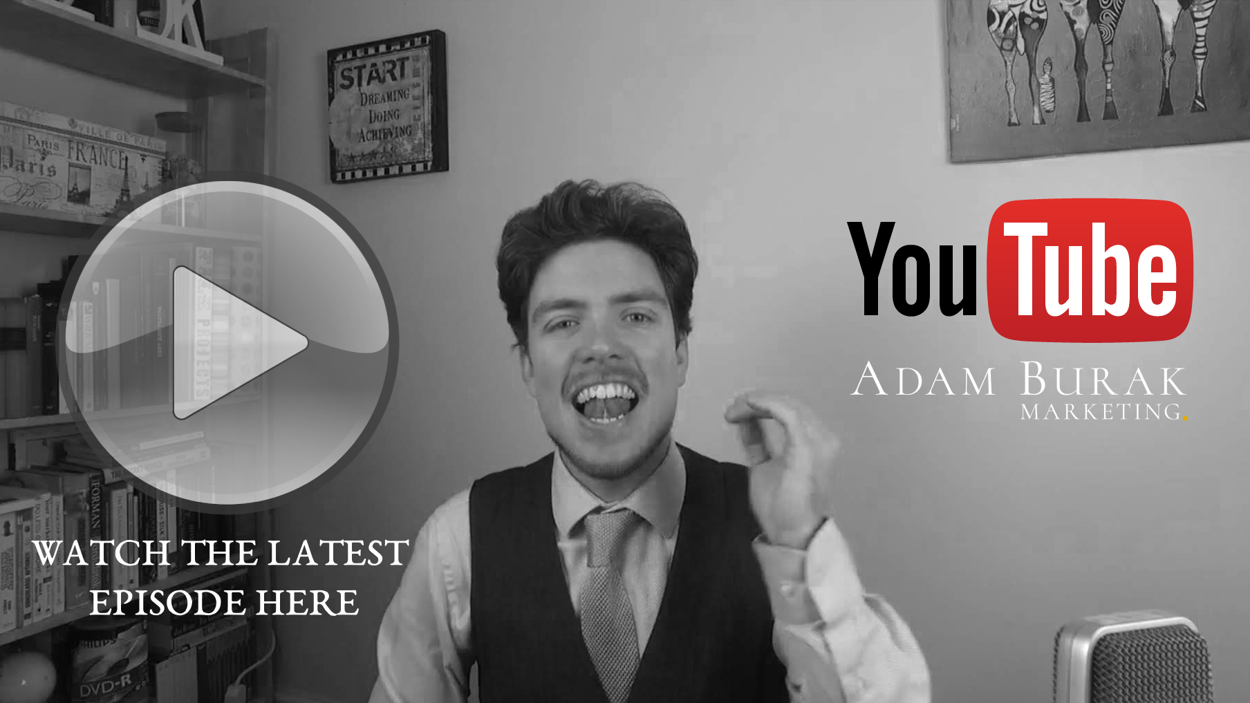 YouTube Feed - Adam Burak Marketing