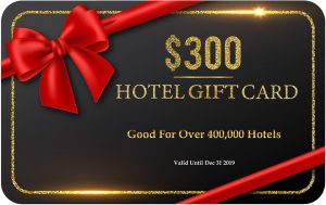 Win a $300 Hotel Gift Card