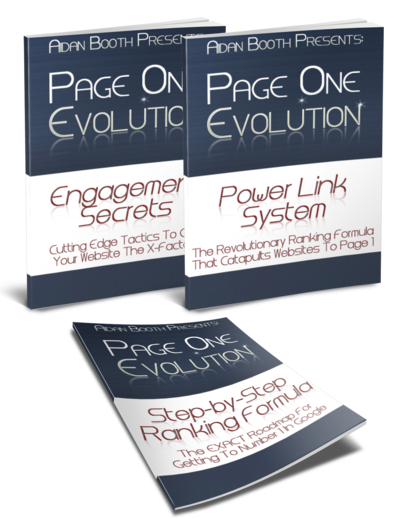 Page One Evolution