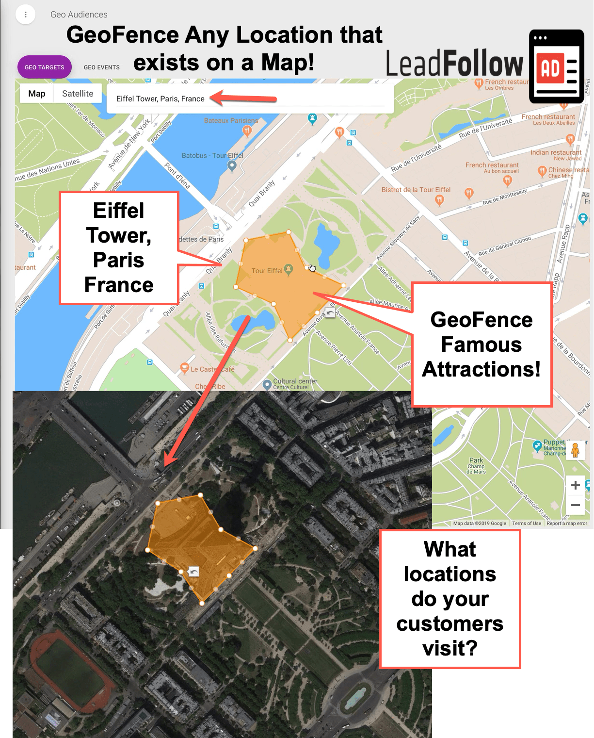 GeoFence Geotargeting Audience Event locations