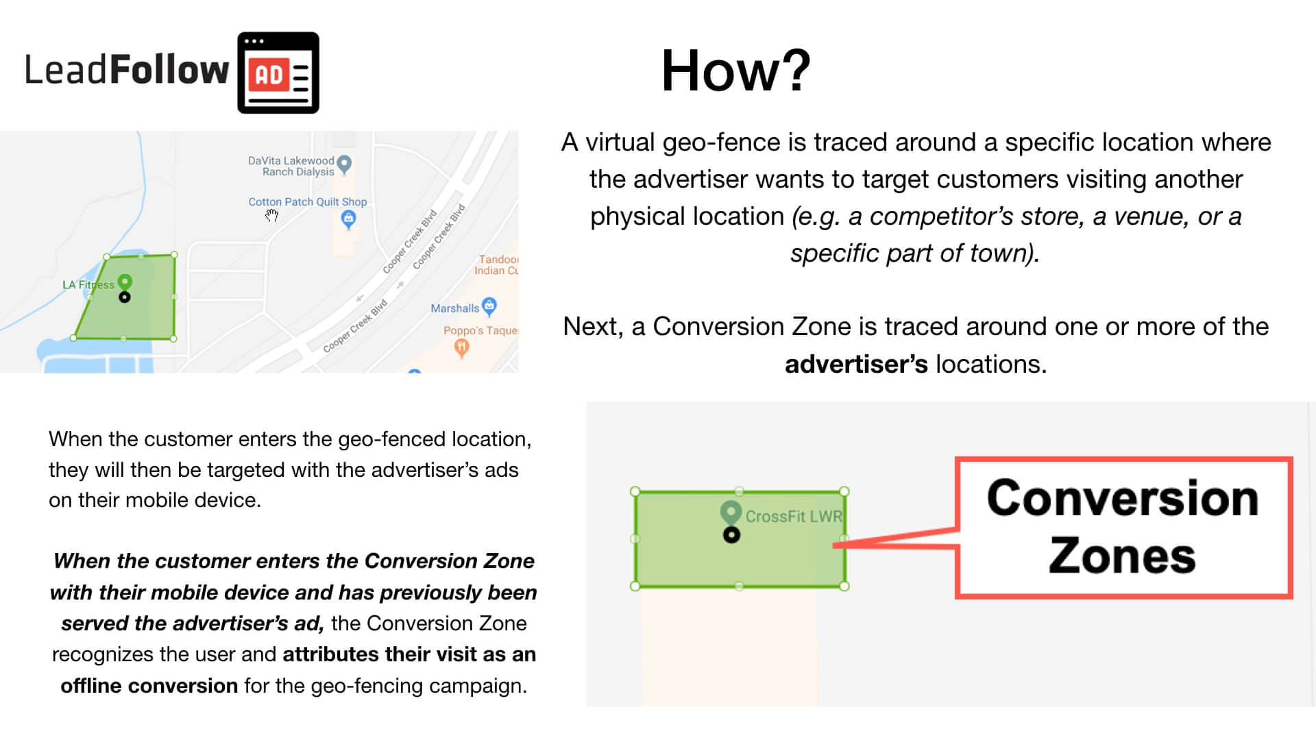 Geofencing Natural Lift Walk-in Conversion Tracking