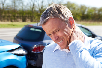 car auto accident injury pain