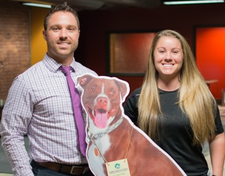 dr foltz with sister humane society