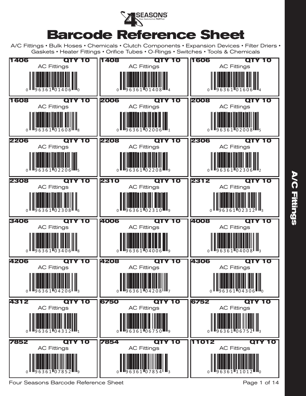 barcode reference sheet powered by pageturnpro com