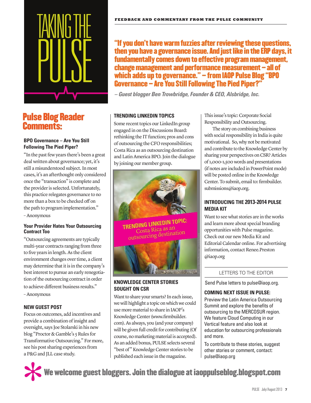 Pulse issue #6 - Powered by PageTurnPro com