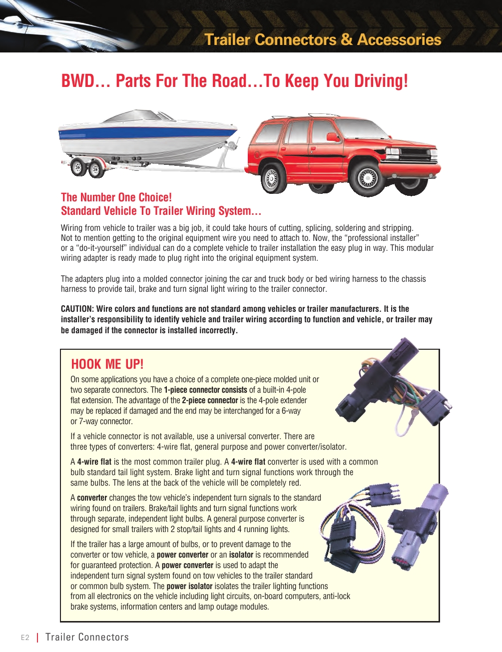 Bwd Wire Cable Illustrated Parts Guide Powered By Truck Trailer Wiring Adapters Page No