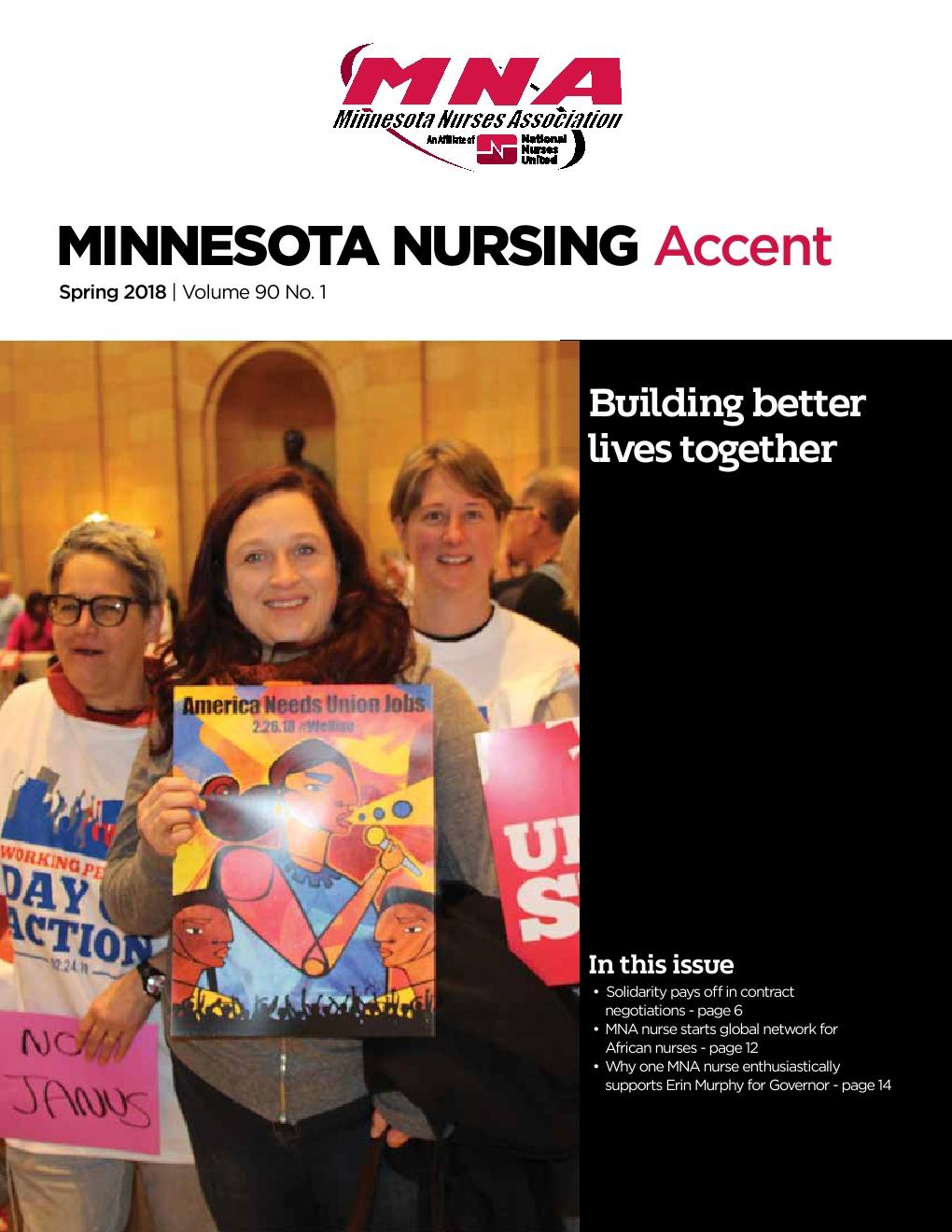 Minnesota Nursing Accent - Spring 2018 - Powered by