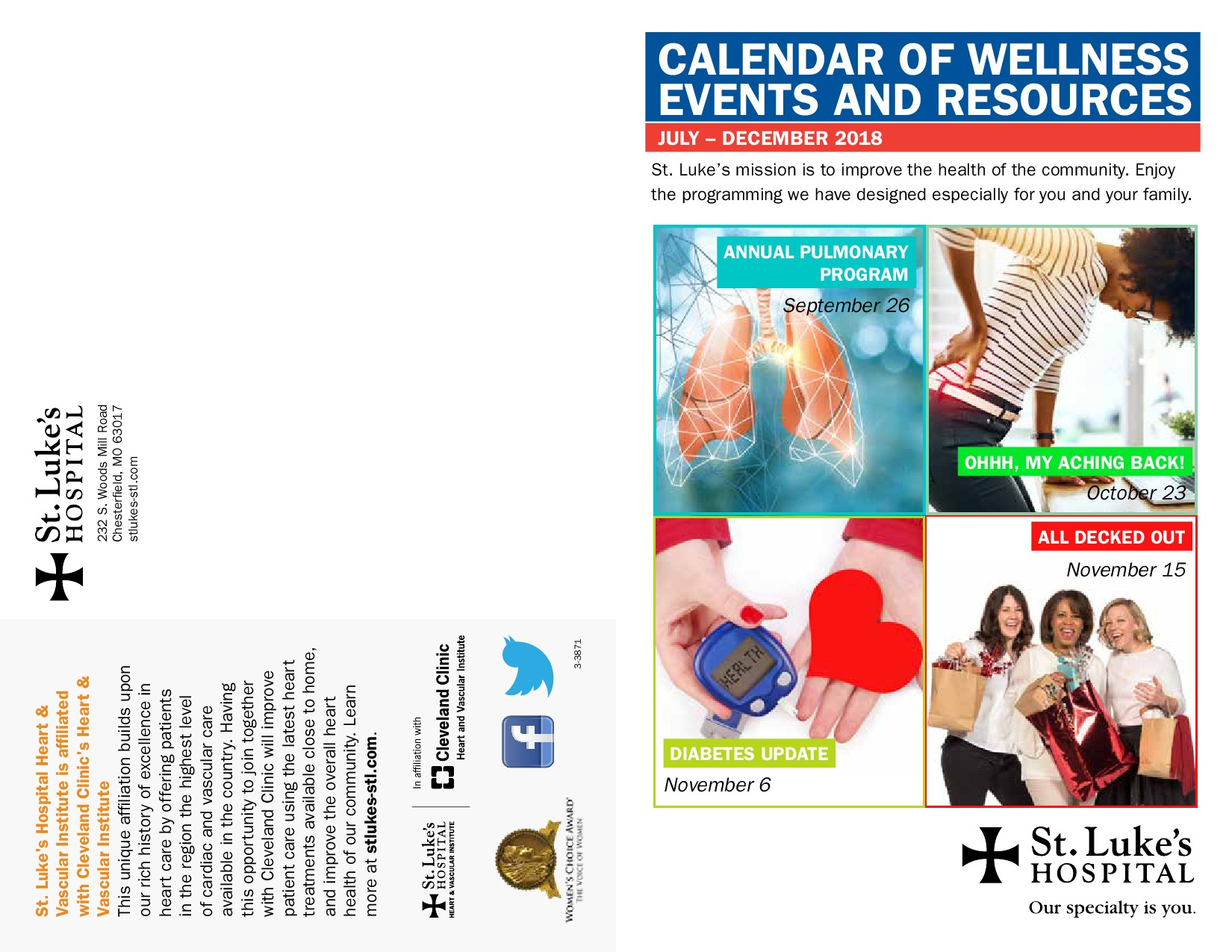 healthy living calendar summer 2018 powered by pageturnprocom