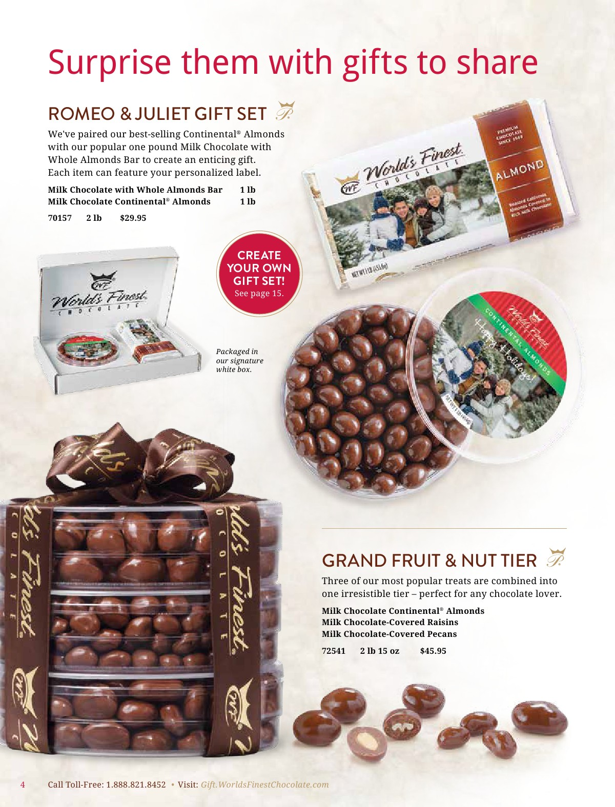 Worlds Finest Chocolate 2018 Holiday Catalog Powered By