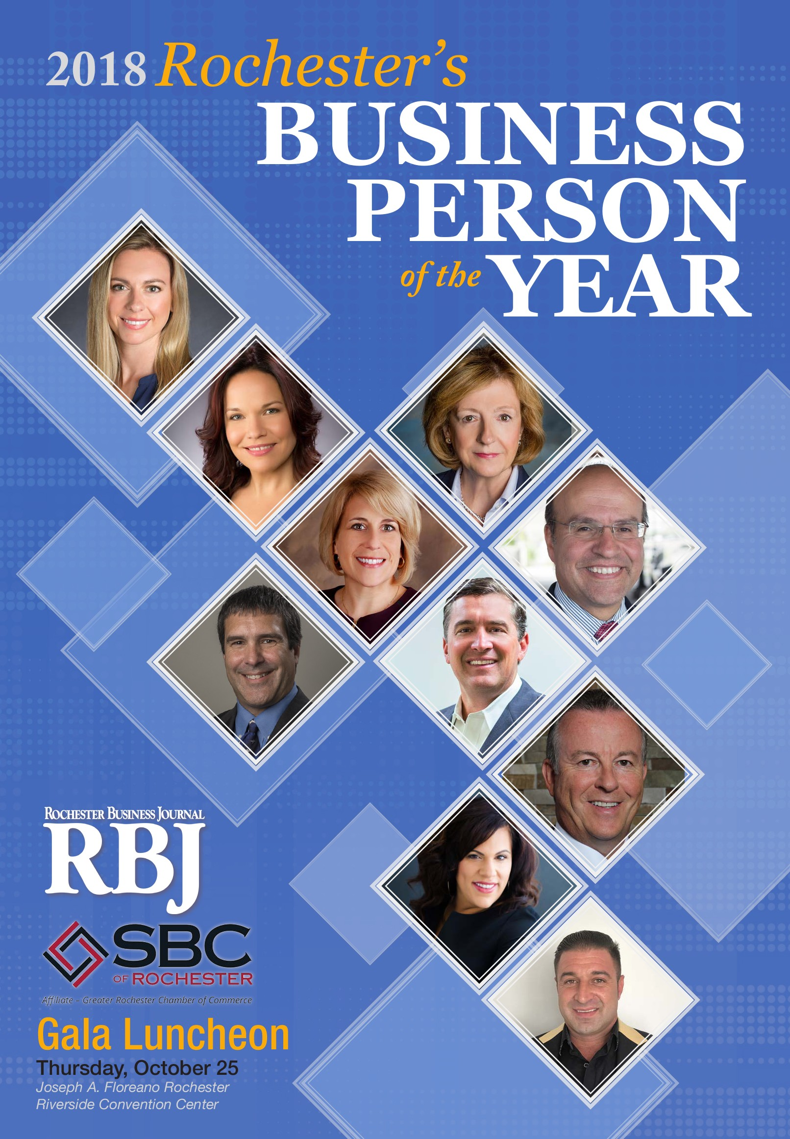Rochester's Business Person of the Year 2018 | Rochester Business