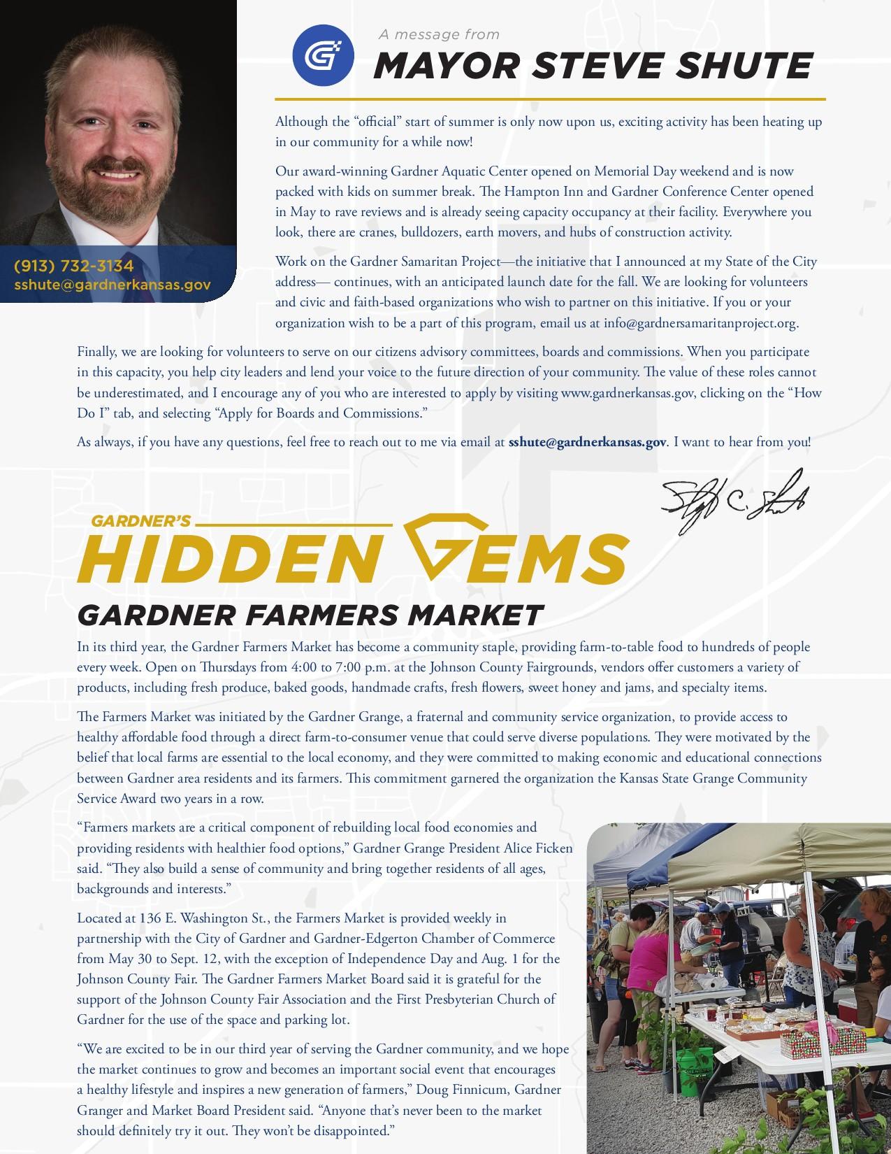 Inside Gardner Newsletter | Gardner, KS