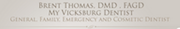 My Vicksburg Dentist logo