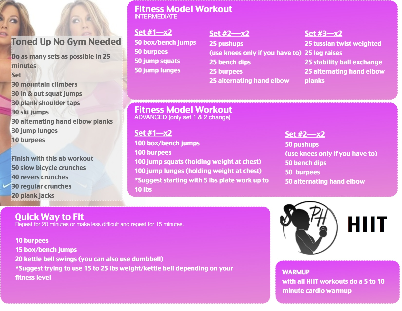 HIIT Workout Paige Hathaway