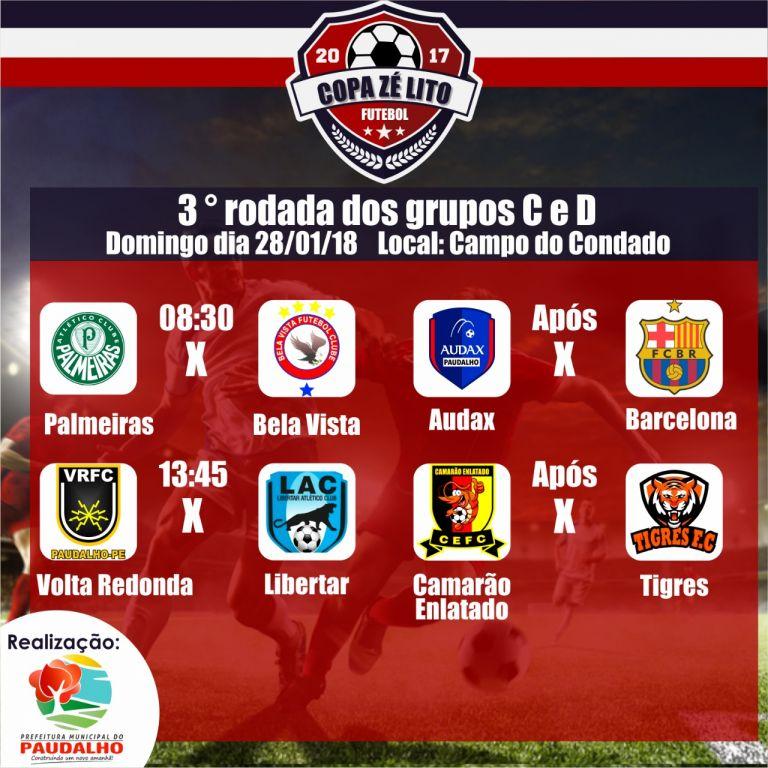 A Copa Zé Lito de Futebol segue a todo vapor em Paudalho 263c1c18c1fd2