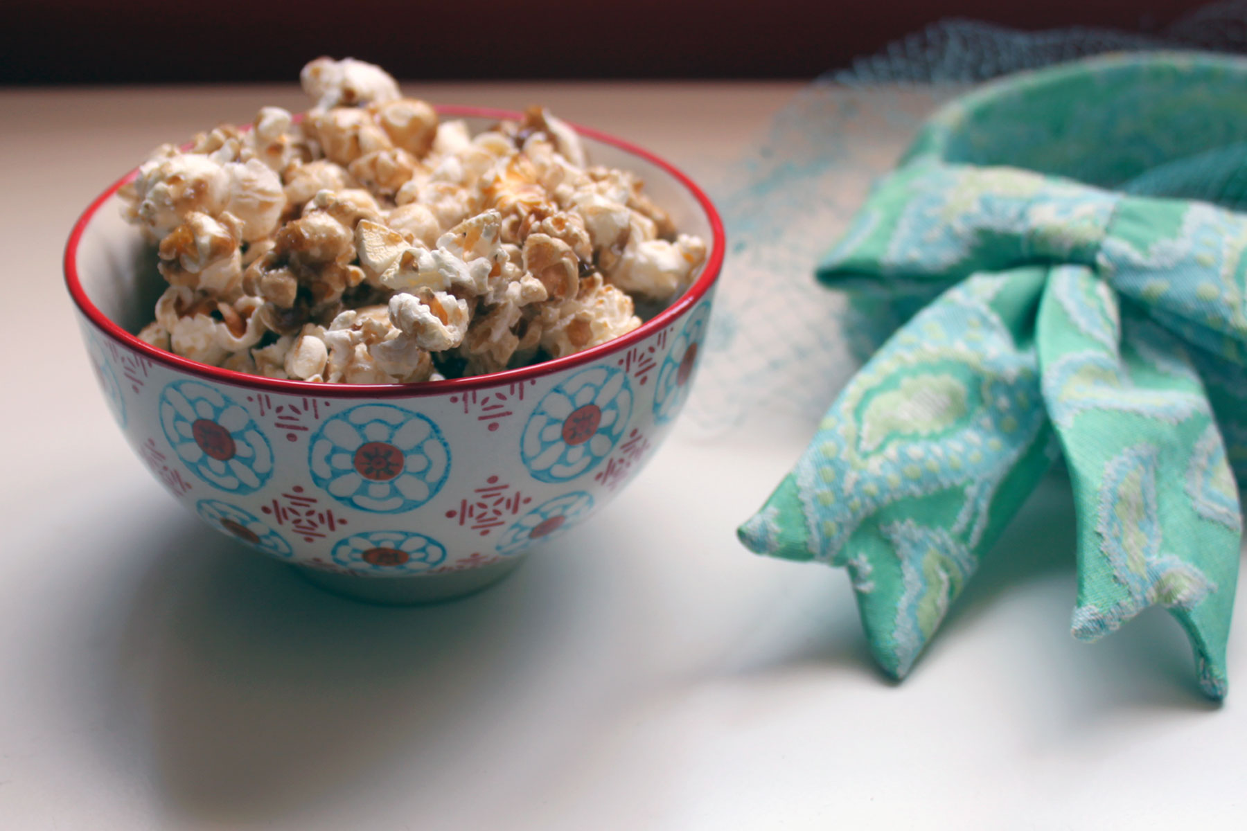 Easy 5-Minute Caramel Corn