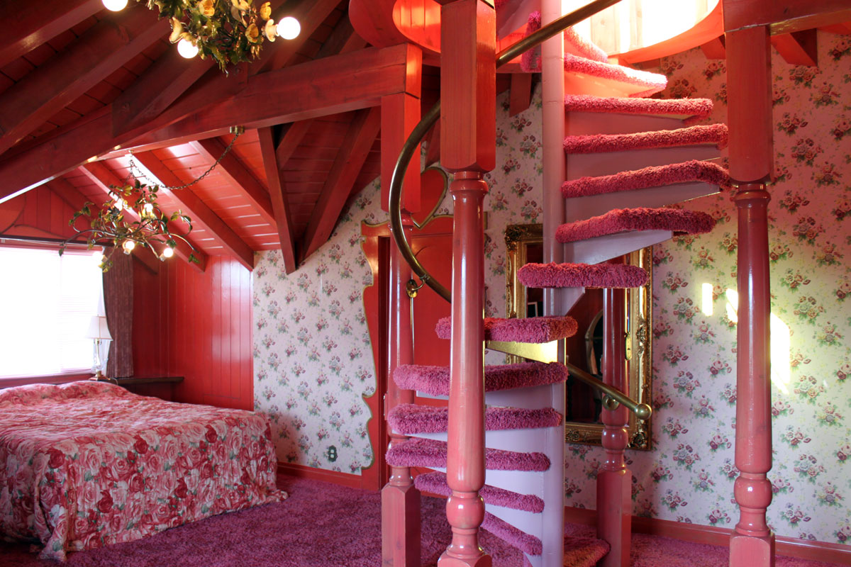 A Look Inside the Madonna Inn - Paint the Gown Red