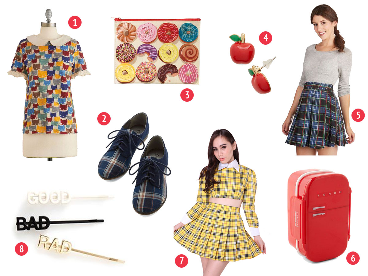 Back to School Wishlist- Paint the Gown Red