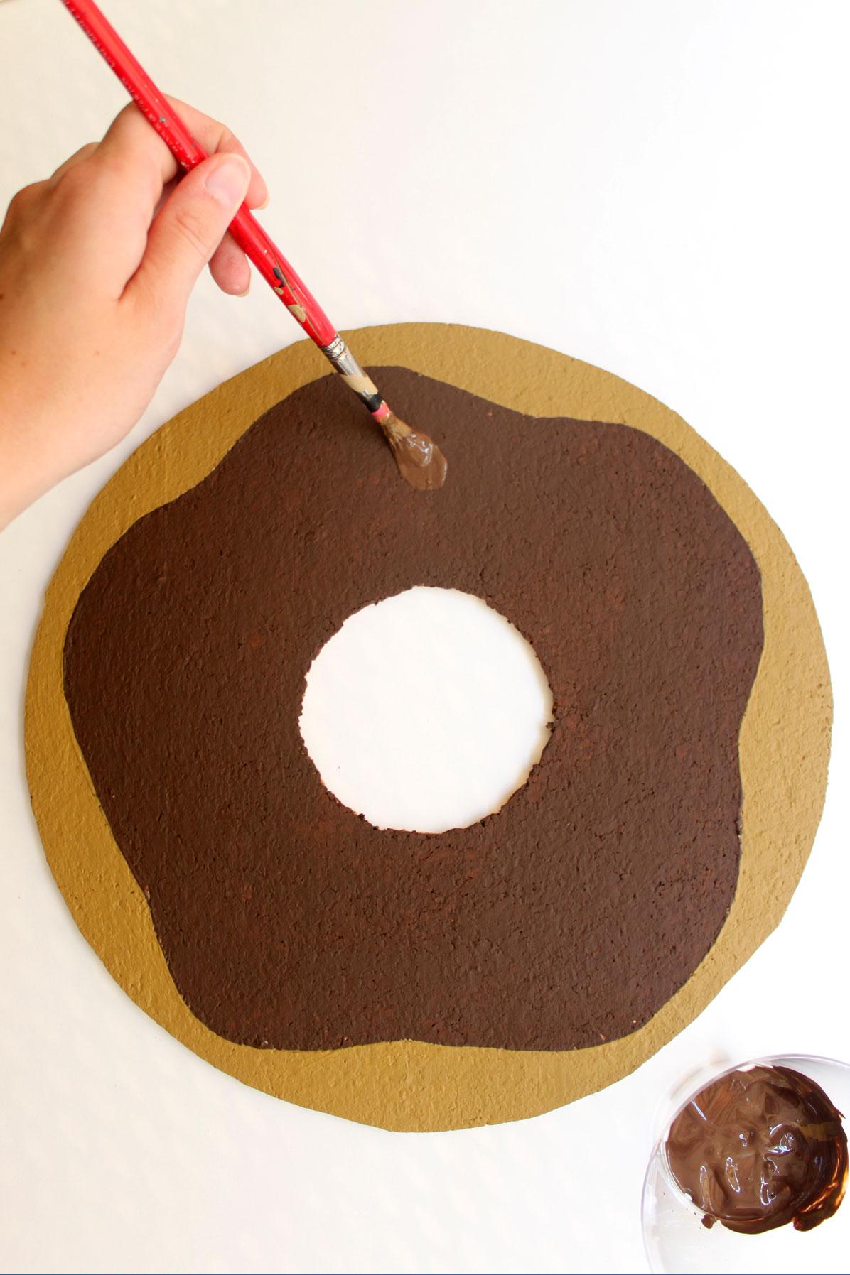 Diy Donut Bulletin Board W Sprinkle Push Pins Paint The