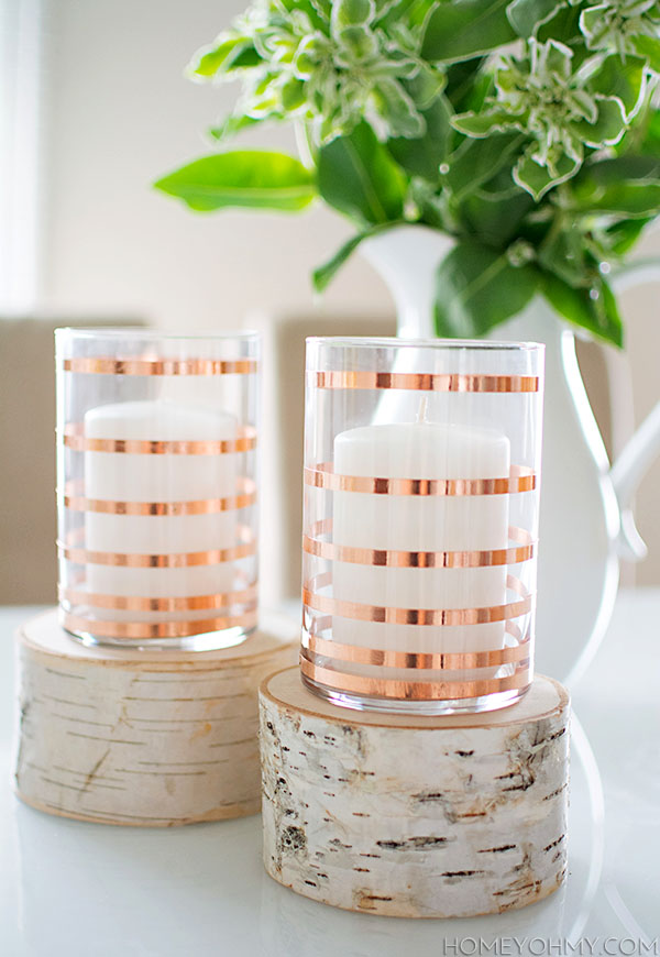 Fave Five: Fall Copper DIYs- Paint the Gown Red