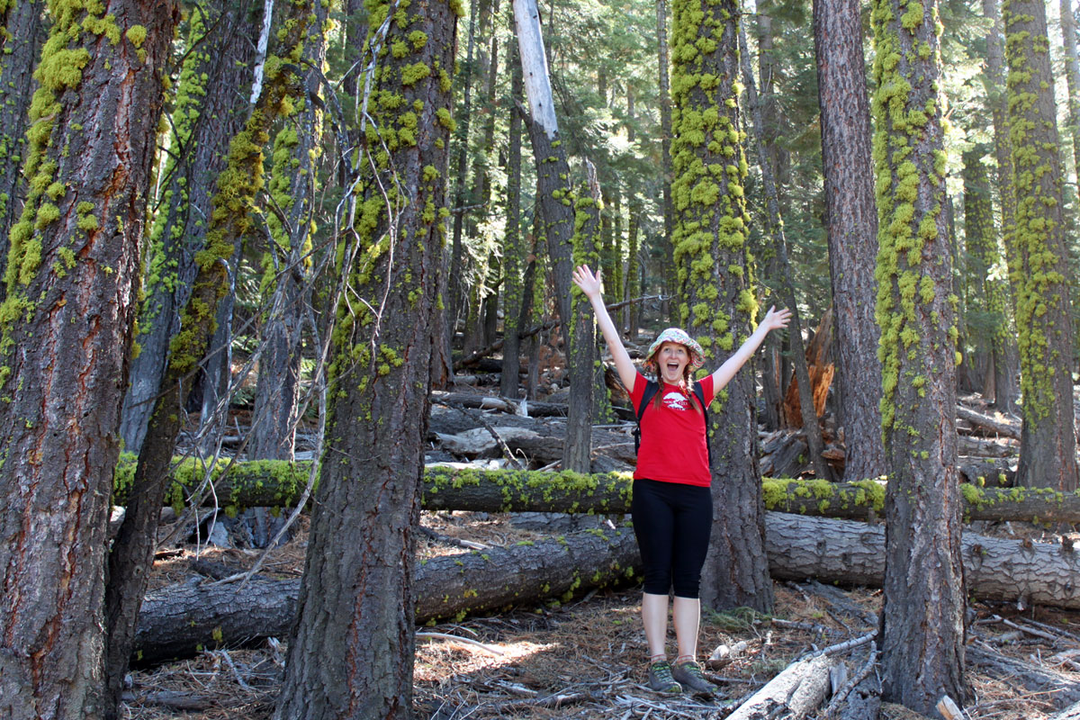 Yosemite Weekend- Paint the Gown Red