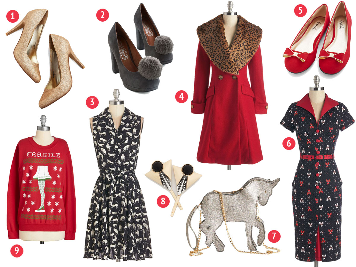 Holiday Wishlist- Paint the Gown Red
