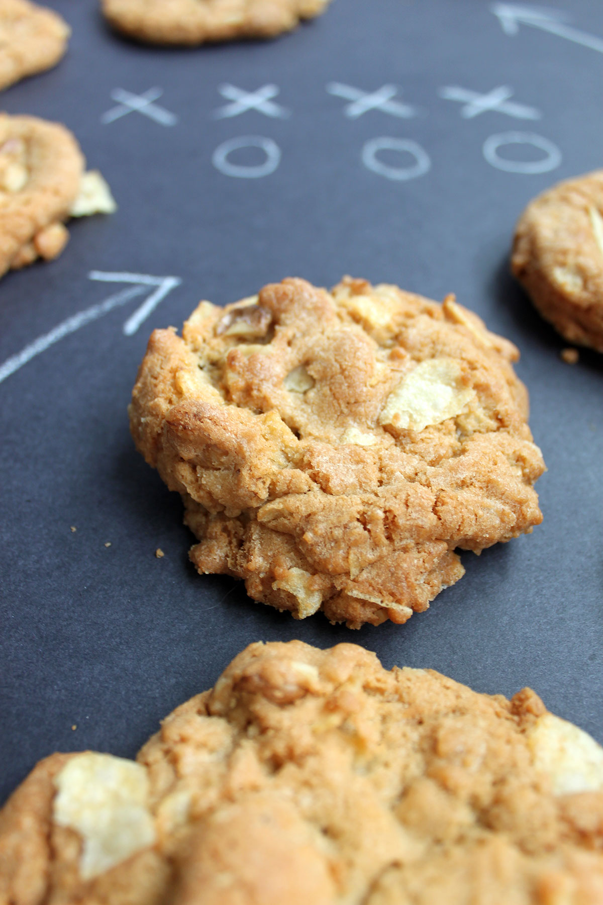 Potato Chip Cookies- Paint the Gown Red