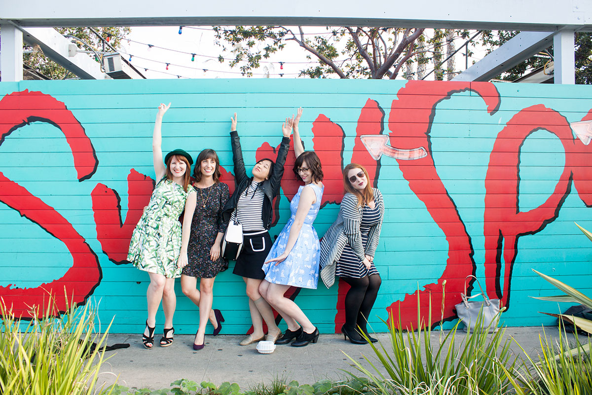 Ladies Who Brunch: Sunny Spot- Paint the Gown Red