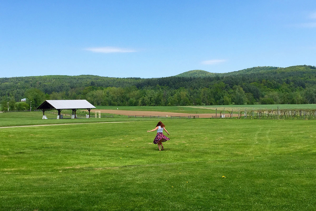Weekend Getaway to Stowe, Vermont- Paint the Gown Red