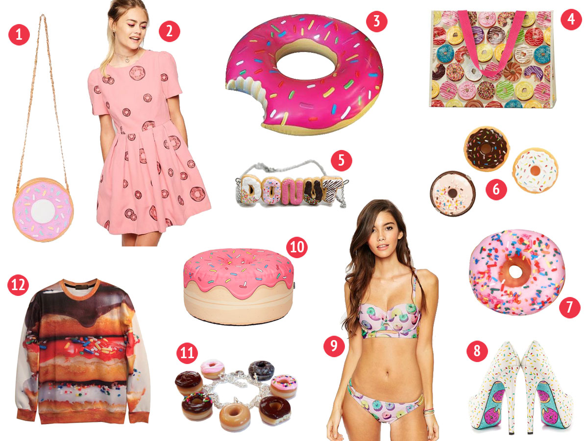 Donut Wishlist- Paint the Gown Red