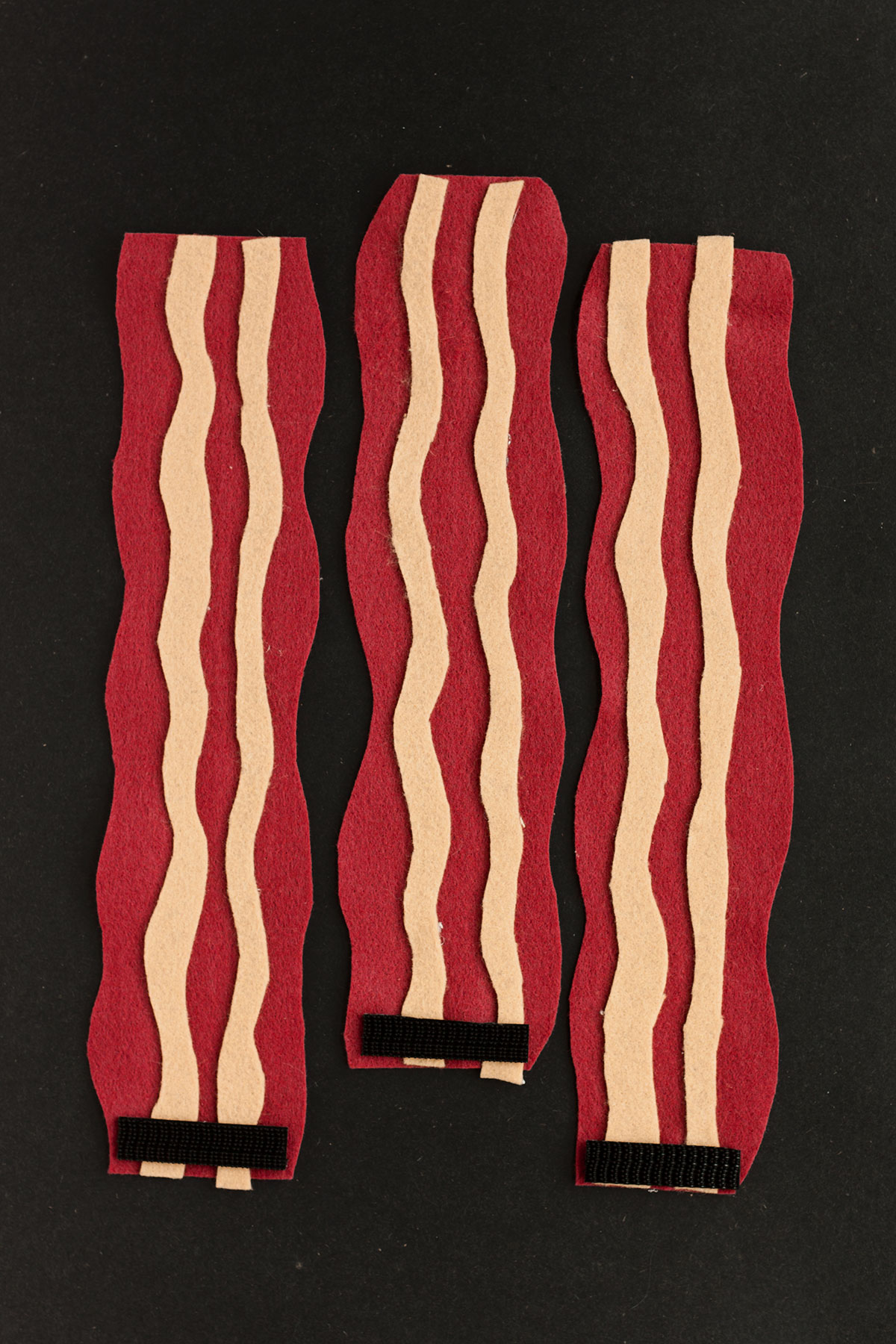 DIY Bacon Koozies- Paint the Gown Red