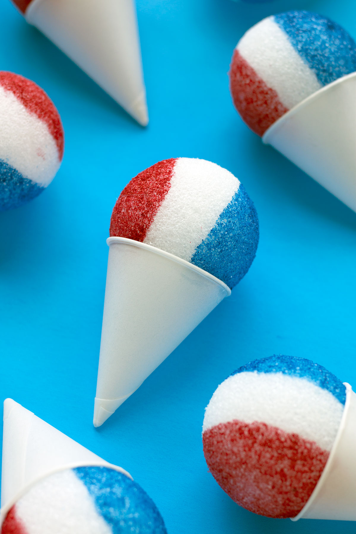4th of July Party Planning Ideas | Norine's Nest |Red Snow Cone