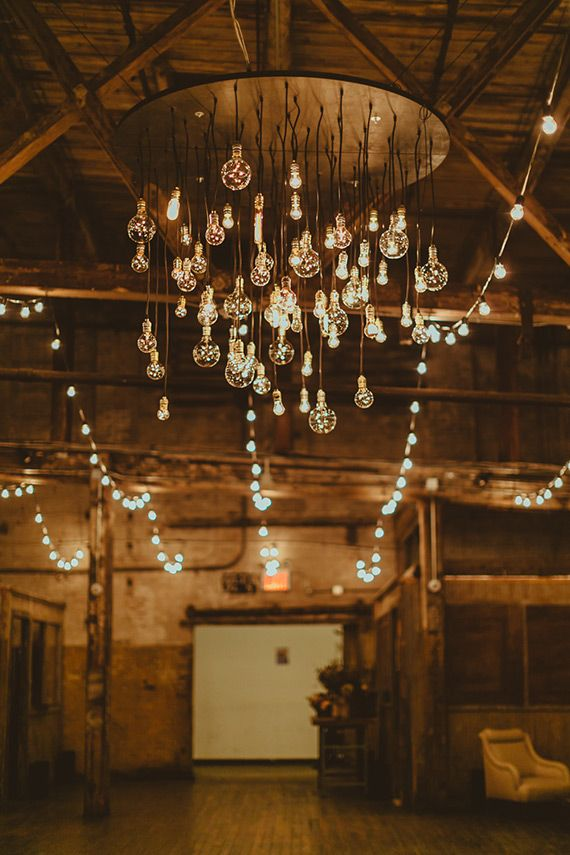 String Light Inspiration Paint The Gown Red