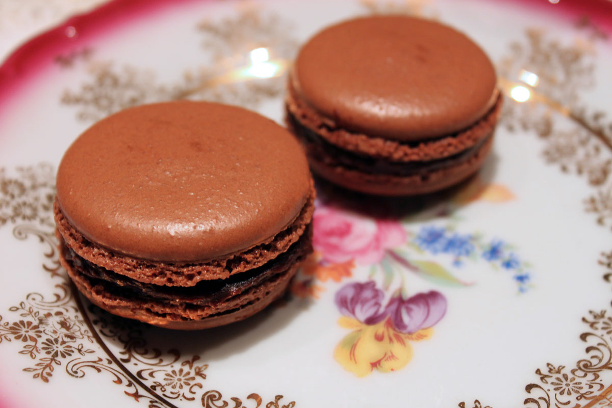 How to Make Chocolate Macarons | Paint the Gown Red | Bloglovin'