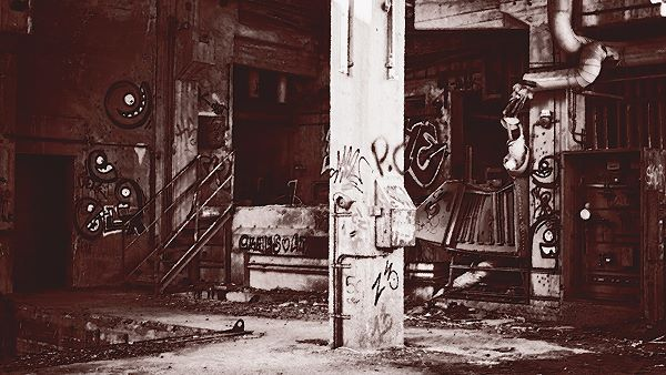 monochrome artwork used to convey emotion