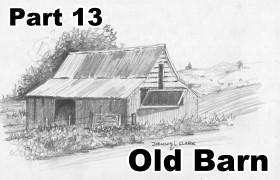 In This Lesson We Put Our Texture Techniques Into Practice By Drawing An Old Rickety Barn