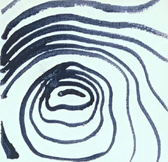 contour lines to create texture