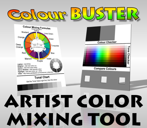 Color Buster Color Mixing Tool