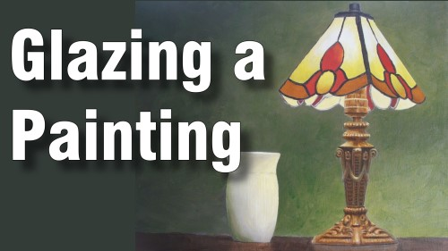 Learn to create a monochrome under painting then glaze in the colours