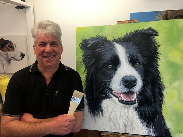 Make money by taking dog portrait commissions