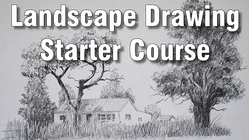Intro to landscape drawing course