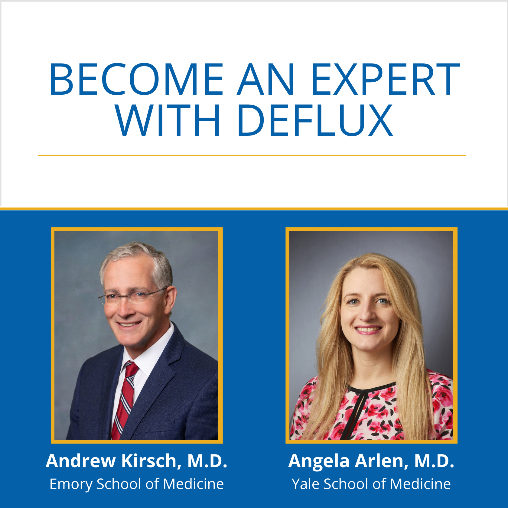 Become an Expert with Deflux